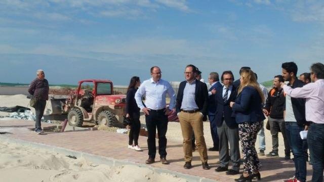 La oferta de ocio de Mazarrón crece con los nuevos campos de deportes de playa subvencionados por la Comunidad, Foto 1