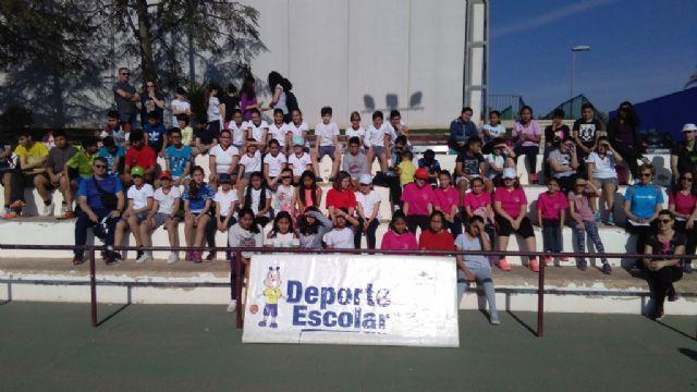 La Fase Local de Atletismo de Deporte Escolar contó con la participación de 60 escolares pertenecientes a las categorías alevín, cadete y juvenil, Foto 2