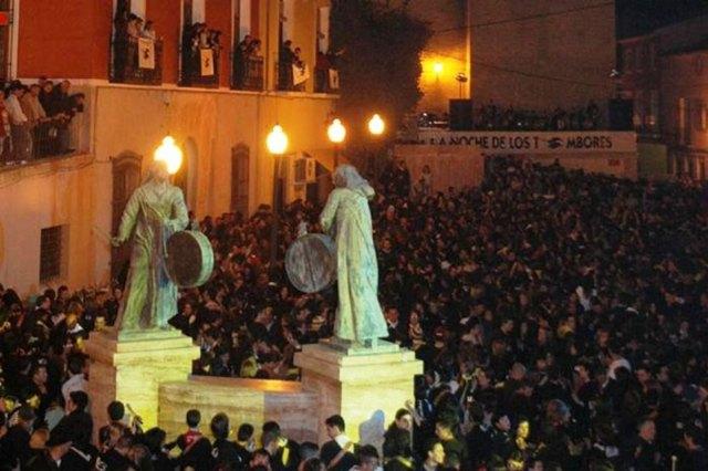 [Totana se adhiere a la iniciativa para que la Noche de los Tambores de Mula sea considerada Fiesta de Interés Turístico Internacional, Foto 1