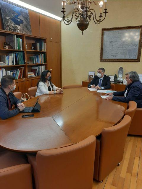 El Presidente de la CHS ha mantenido una reunión de trabajo con la Alcaldesa de Alguazas - 2, Foto 2