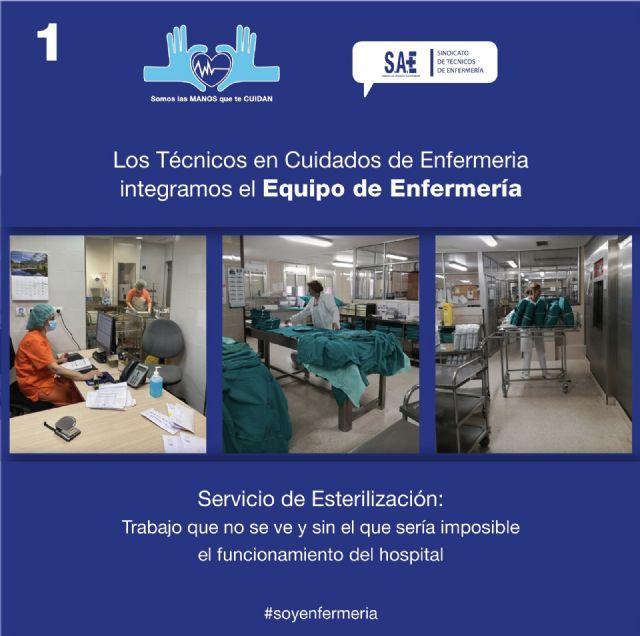 El trabajo que los TCE realizan en esterilización es esencial para el funcionamiento correcto del hospital - 1, Foto 1
