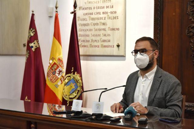 El Ayuntamiento de Lorca conmemora el X aniversario de los terremotos de 2011 con un acto institucional solemne - 1, Foto 1