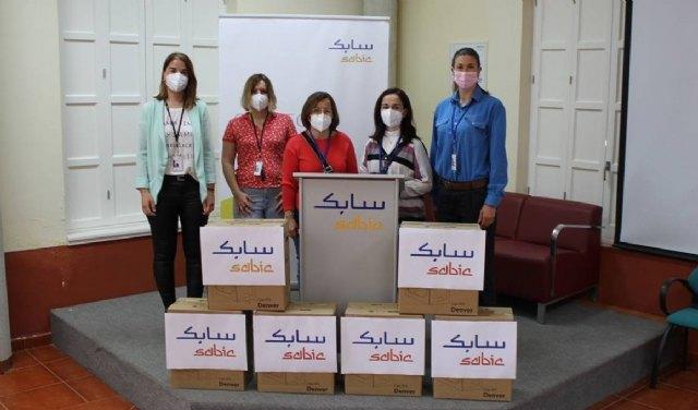 La Fundación SABIC España dona material informático a centros educativos de La Aljorra - 2, Foto 2