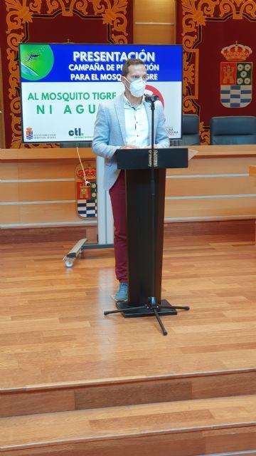 El Ayuntamiento de Molina de Segura promueve la nueva campaña de prevención AL MOSQUITO TIGRE, NI AGUA - 2, Foto 2