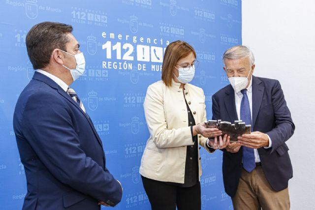 [La Comunidad reconoce la entrega y profesionalidad de Juan Lorente, hasta ahora jefe de la Unidad de Protección Civil, Foto 1