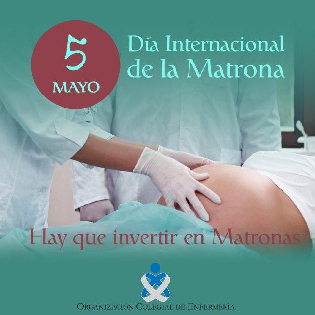 El Colegio de Enfermería reivindica el refuerzo de las plantillas de matronas en los centros sanitarios de la Región, Foto 1