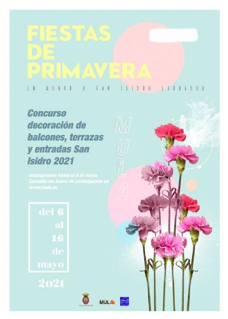 I Concurso de San Isidro para la decoración de balcones, ventanas y entradas – Inscripciones hasta el 6 de mayo - 1, Foto 1