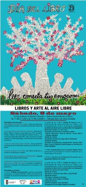 """[La Concejalía de Cultura celebra este sábado 8 de mayo en """"La Cárcel"""" las actividades programadas con motivo del Día del Libro, Foto 1"""