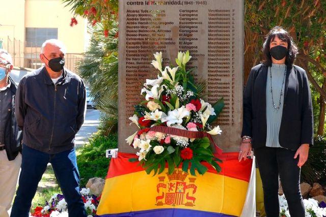 El Ayuntamiento de Cartagena conmemora el 76 aniversario de la liberación del campo de Mauthausen - 1, Foto 1