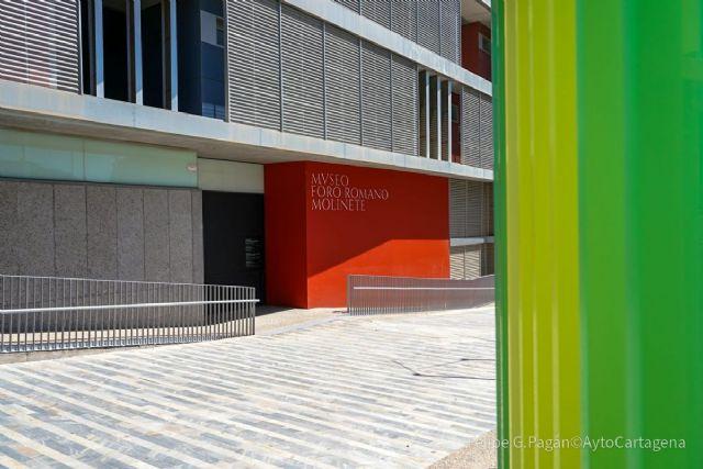 El Rey inaugurará el miércoles el nuevo Museo Foro Romano Molinete de Cartagena - 1, Foto 1