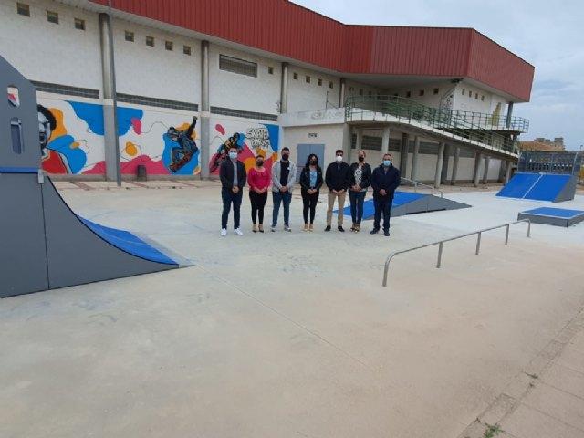 Inauguradas las instalaciones del nuevo skatepark de Alguazas - 1, Foto 1
