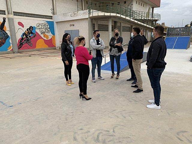 Inauguradas las instalaciones del nuevo skatepark de Alguazas - 2, Foto 2