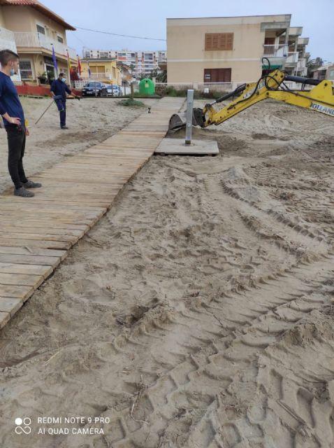 Las playas de Águilas se acondicionarán con nuevas pasarelas y Lavapiés de pedal - 2, Foto 2