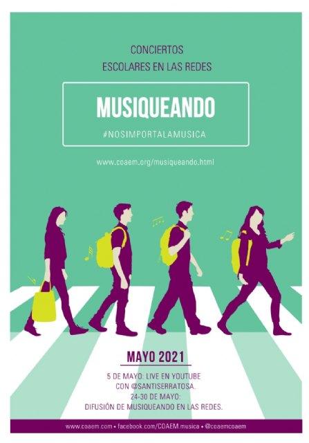 Miles de alumnos de la Región de Murcia llenarán las redes con la música que se hace en sus aulas - 1, Foto 1