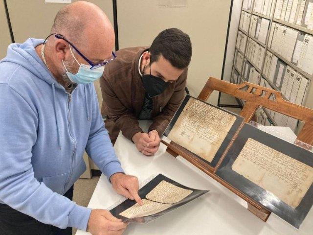 El Archivo Municipal de Mula recupera tres documentos medievales de los reyes Enrique III y Alfonso XI de Castilla - 2, Foto 2