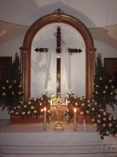 El PP de Las Torres de Cotillas, con los vecinos del Barrio de la Cruz en la Misa solemne de sus fiestas 2021 - 2, Foto 2