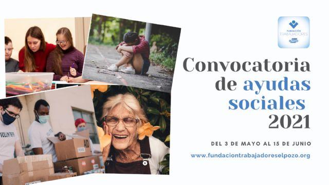 La Fundación de Trabajadores de ElPozo convoca su programa de ayudas a proyectos sociales, Foto 1
