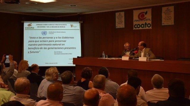 Unánime apoyo político y social a la agricultura ecolócogica en Murcia, Foto 3