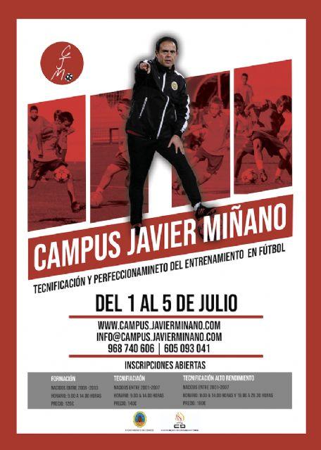 El VII Campus Javier Miñano se celebrará en julio - 1, Foto 1