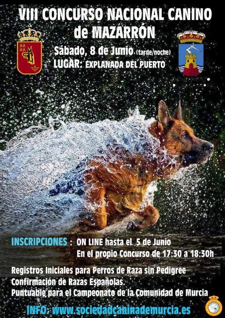 VIII Concurso Nacional Canino en Puerto de Mazarrón, Foto 1