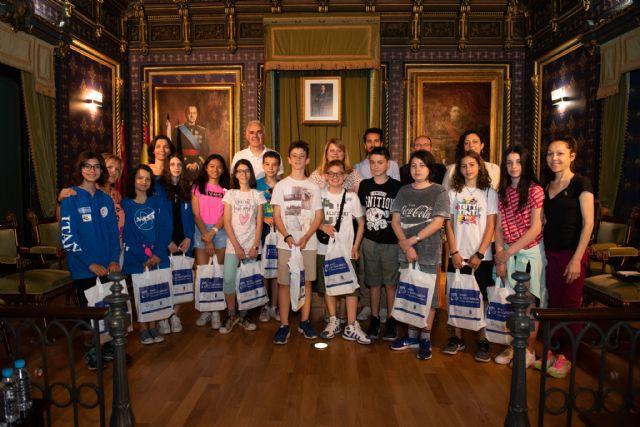 43 alumnos italianos, húngaros y polacos visitan Mazarrón, Foto 3