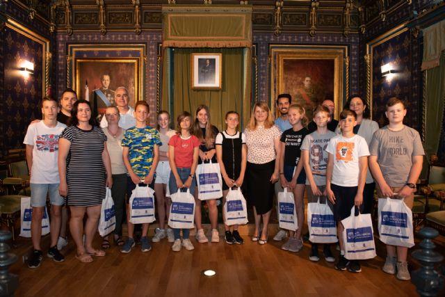 43 alumnos italianos, húngaros y polacos visitan Mazarrón, Foto 4