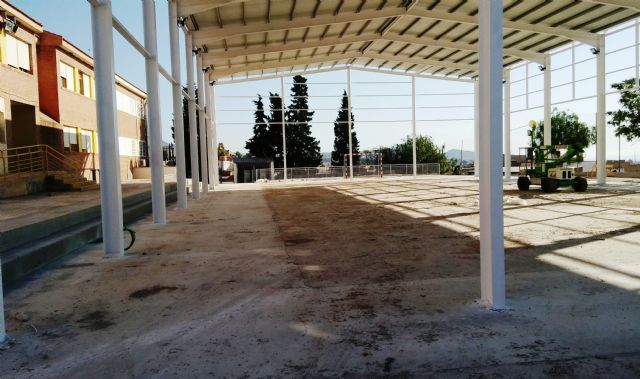 """The new sports center of the CEIP """"San José"""" will be operational from the next school year 2019/2020"""