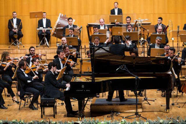 La Orquesta Sinfónica de la Región y el pianista griego Konstantinos Destounis interpretan a Beethoven en el Víctor Villegas - 2, Foto 2