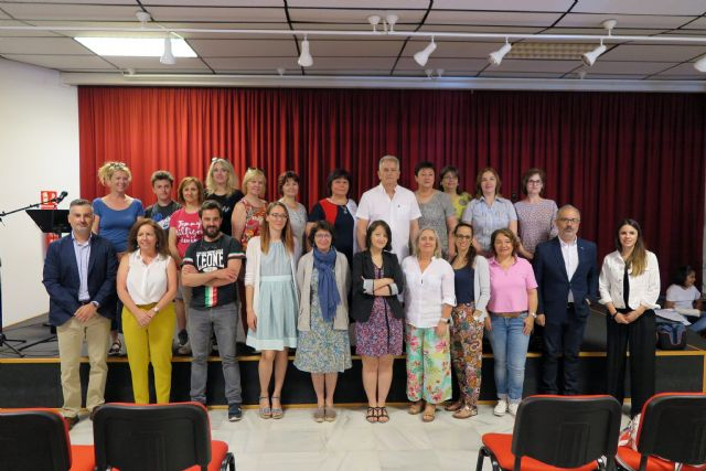 Profesores de cinco países europeos visitan Caravaca para clausurar el proyecto 'Erasmus +' coordinado por el colegio Cervantes - 1, Foto 1