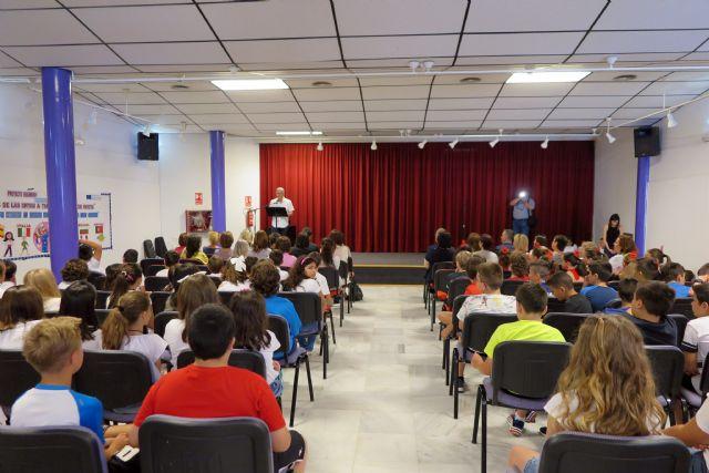 Profesores de cinco países europeos visitan Caravaca para clausurar el proyecto 'Erasmus +' coordinado por el colegio Cervantes - 2, Foto 2