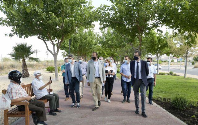 Una inyección de 250.000 euros para la renovación de las zonas verdes y aceras de Sangonera La Verde - 2, Foto 2