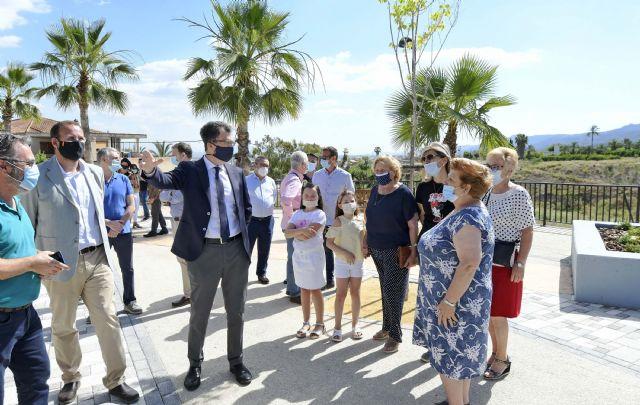 Una inyección de 250.000 euros para la renovación de las zonas verdes y aceras de Sangonera La Verde - 3, Foto 3