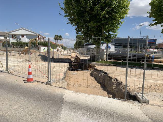 La Mancomunidad de los Canales del Tabilla sustituye 2,5 kilómetros de tubería de fibrocemento por otra de fundición dúctil en San Javier - 4, Foto 4