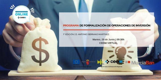 Programa de Murcia-Ban sobre Formalización de operaciones de inversión - 1, Foto 1