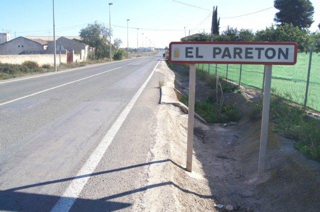 Se producirá un corte en el suministro eléctrico en algunas zonas de la pedanía de El Paretón-Cantareros el próximo martes