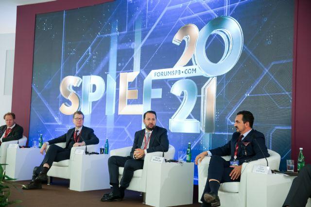 Rafael Fuertes interviene en el Foro Económico Internacional de San Petersburgo junto a líderes políticos de todo el mundo, Foto 1