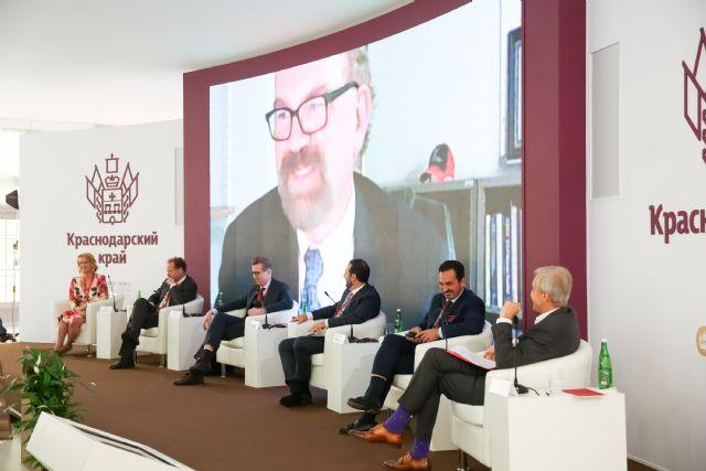 Rafael Fuertes interviene en el Foro Económico Internacional de San Petersburgo junto a líderes políticos de todo el mundo, Foto 2