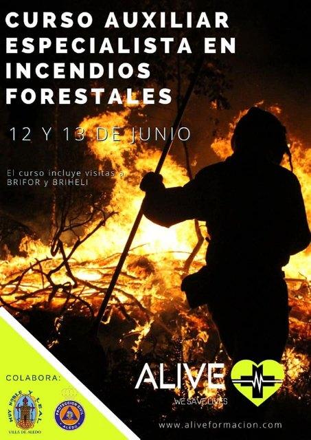 Alive organiza un curso de auxiliar especialista en incendios forestales - 2, Foto 2