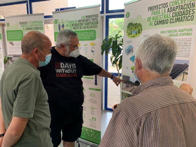 El IES Europa acoge la exposición Cambio Climático y proyecto LIFE ADAPTATE, dentro de las actividades del Mes del Medioambiente - 4, Foto 4