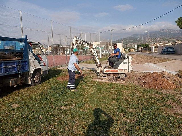 Brigada municipal: trabajos del 2 y 3 de junio