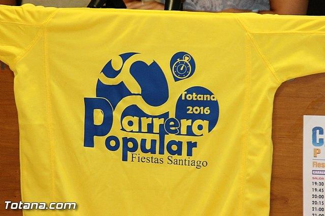 La Carrera Popular Fiestas de Santiago 2016 tendrá lugar el próximo sábado 16 de julio, Foto 2