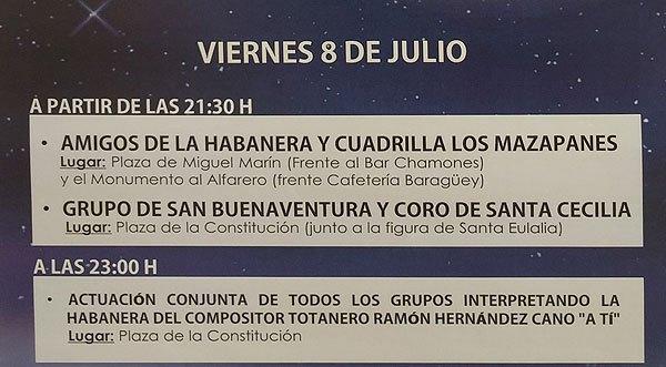 Este viernes 8 de julio tendrá lugar una Velada de Habaneras y Canciones Populares, Foto 7