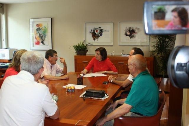 Sanidad subraya la labor que desarrolla la Asociación Regional Murciana de Hemofilia, Foto 2