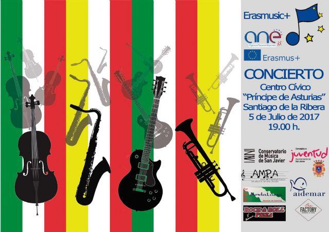 Jóvenes músicos de San Javier y de Italia ofrecerán mañana un concierto gratuito en Santiago de la Ribera - 2, Foto 2