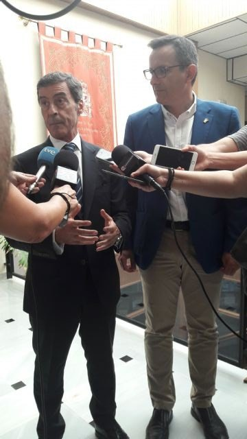 El delegado del Gobierno preside la junta local de Seguridad de Alhama, donde las infracciones penales descienden un 26%, Foto 2