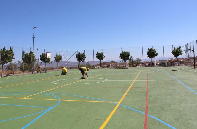 El Ayuntamiento de Puerto Lumbreras acomete actuaciones de mejora en las instalaciones deportivas de Góñar - 1, Foto 1