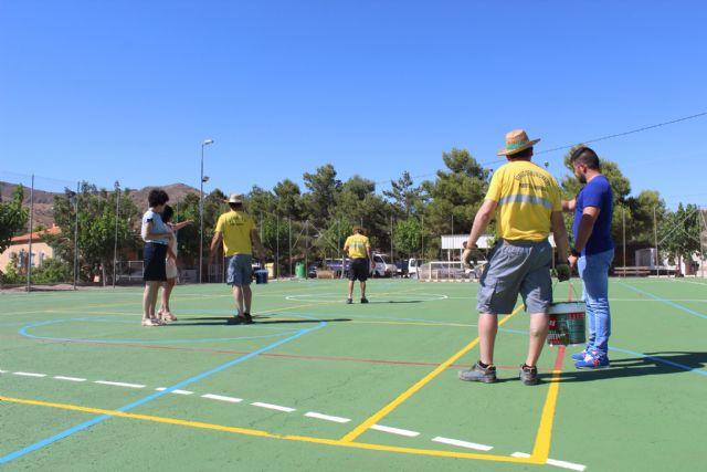 El Ayuntamiento de Puerto Lumbreras acomete actuaciones de mejora en las instalaciones deportivas de Góñar - 2, Foto 2