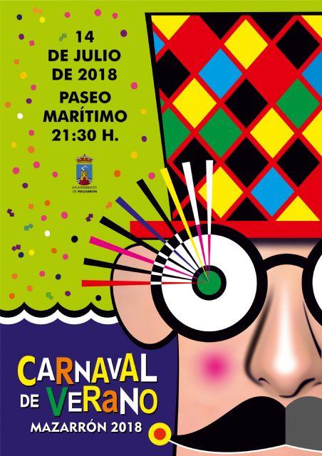 20 comparsas desfilarán en elcarnaval de verano de puerto de Mazarrón, Foto 1