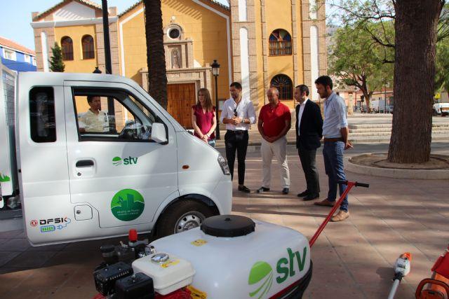Nuevos vehículos y herramientas eléctricas para el cuidado de parques y jardines, Foto 5