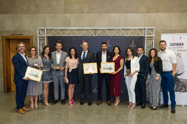 Los vinos de Bodegas Luzón triunfan en el XXV Certamen de Calidad de Vinos de Jumilla, Foto 1